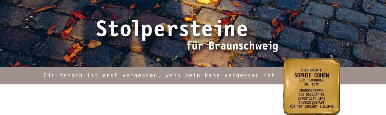 Stolpersteine für Braunschweig