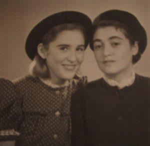 Foto Lise Seidler, geb Bernstein u Barbara
